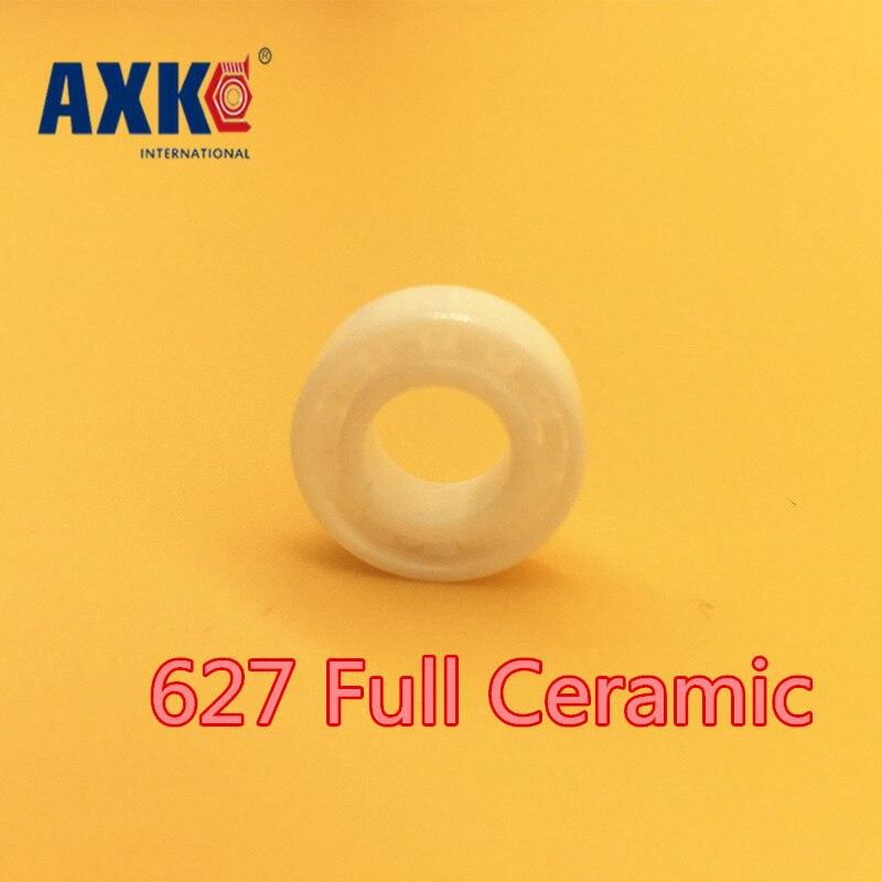 2018 Hot Sale Sale Rodamientos Axk 627 Full Ceramic Bearing ( 1 Pc ) 7*22*7 Mm Zro2 Material 627ce All Zirconia Ball Bearings<br>
