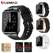 LEMFO Smartwatch DZ09 Smart Watches Support SIM Card Camera Bluetooth dz09 Battery Smart Watch Men Women for IOS Android Phone(China)