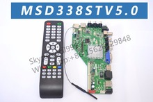 New MSD338STV5.0 Intelligent Wireless Network TV Driver Board Universal Andrews LCD Motherboard with RAM 512M and 4G storage