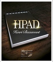 HPad by Henri Beaumont , Great close up mentalism magic trick,gimmick,magic prop(China)