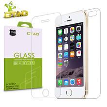 OTAO Front + Back Tempered Glass Screen Protector For iPhone 7 6 6S Plus 5 5S SE 4S 2.5D Anti Shatter Film with Cleaning Kits