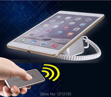 universal mobile phone security charge lock for Ipad tablet anti-theft display stand Samsung alarm base