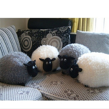 Cartoon Sheep Lamb Doll Plush Toys Kids Children's Baby Birthday Lovely Soft Fluffy Stuffed Toys Brinquedos Xmas For Cushion