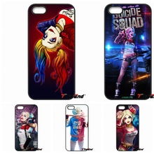 Suicide Squad Harley Quinn Joker Movie Phone Case For iPhone 4 4S 5 5C SE 6 6S 7 Plus Samsung Galaxy Grand Core Prime Alpha
