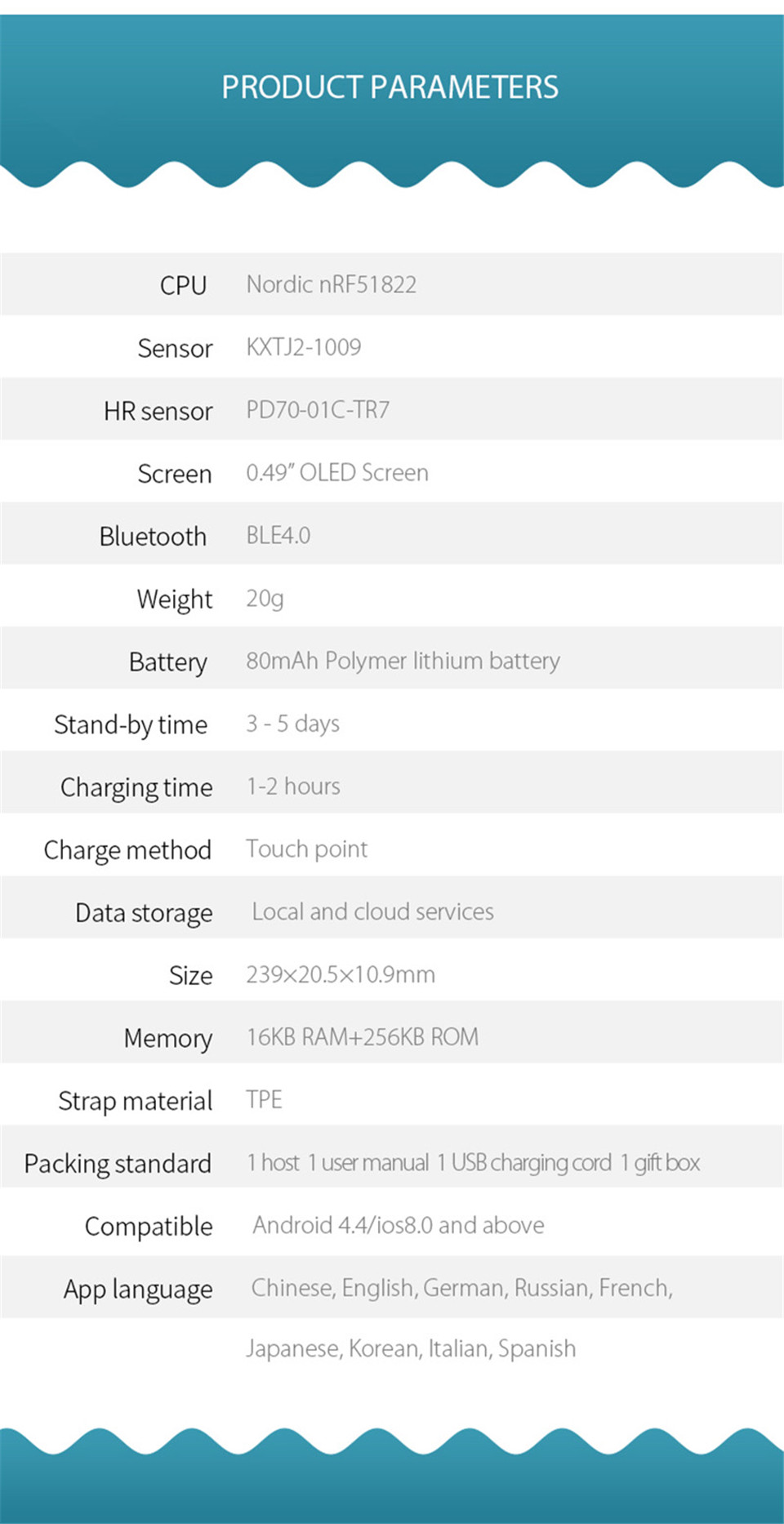 Teamyo New V05C Smart Band Pulse Heart Rate Monitor Smart Wristband Fitness Tracker Pedometer Sleep Tracker IOS Android Bracelet 12