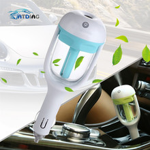 Humidifier Air Purifier For Car Charger DC 12V Auto Power Off Sprayer Add Water Essential Oil Fragrance New Sale(China)