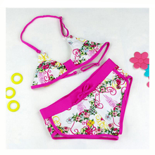 Hot New Swimwear Hipster Summer Bikini Swimsuit Girls Children Swimming Wear Skirt Kids Cute Underwear Swimsuit Split