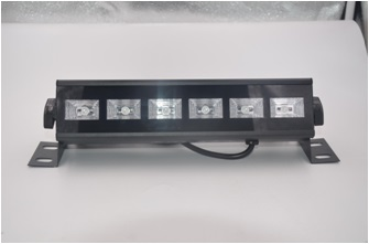 chinese wholesale 6pcs*3W led wall washer led light uv color for bar <br>