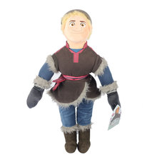 Disney Kid Toys 50cm Snow Queen Brinquedos New Arrival Frozen Plush Dolls Kristoff New Kristof Plush Toy(China)