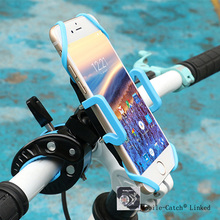 360 Degrees Rotation Bike Bicycle Motorcycle Phone Holder Stand Grip Holder for iPhone 6S 6 Plus Samsung S7 Smartphones