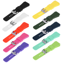 10 Colors 22mm Sports Silicone Bracelet Strap Band For Samsung Gear S3 Smart Watch Perfect gift for Your friends