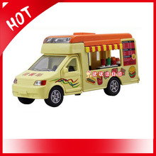 City Series Ice Cream Truck Fast Food Alloy Car