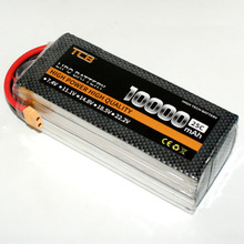 Buy TCB RC LiPo Battery 4S 14.8V 10000mAh 25c RC Airplane Helicopter Drone Car Boat 4s Batteria Free for $106.62 in AliExpress store