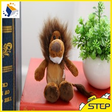 15CM New NICI Jungle Brother Plush Pendant Key chain Cute Mini Lion Plush Toy Baby Toys Gifts for Kids ST219(China)