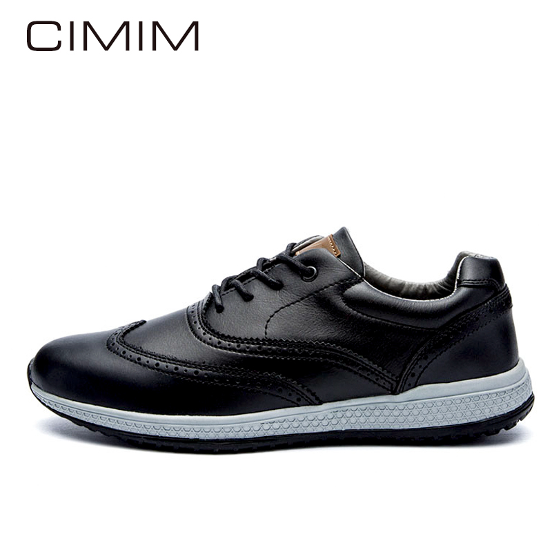 CIMIM Brand New Mens Shoes Casual Men Shoes Genuine Leather Loafers Fashion Mens Shoes Large Size Spring/Autumn Hot Sale Sapatos<br>
