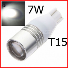 High Power led Q5 7W LED T10 T15 W16W Backup Reverse Light Lamp #j#