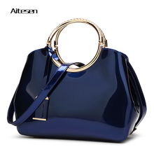 Louis pu leather handbags di lusso delle donne delle borse designer bags famous brand women bags 2016 crossbody bolsas feminina(China)