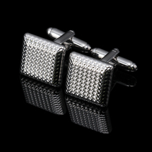 MMS Jewellery Star Frosted Square Badge wars cufflinks male French shirt cuff links for men's Jewelry Gift free shipping