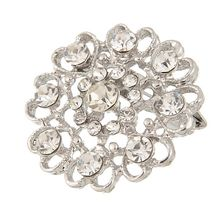 New Crystal Rhinestones Brooches for Wedding Invitation Cake Decoration Brooch Pins For Women Kids Bouquet Kit Wholesale H1215