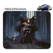 Magic the gathering playmats New Arrivals Customized Non-Slip Rubber 3D Print Gaming laptop Durable Nice Mouse mat 220*180*2mm