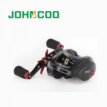 JOHNCOO NEW Baitcasting Fishing Reel Big Game 12kg Max Drag 11+1 BB 7.1:1 Aluminium Alloy Body Saltwater Jigging Reel