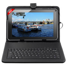 "9"" Inch A33 Allwinner Android 4.2 Quad Core Google Tablet PC 8GB Keyboard Bundle"