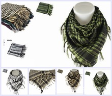 Shemagh Military Scarf Islamic Airsoft Muslim Multifunction Tactical Arabic Keffiyeh Man Wrap Bandana Hijab Palestine Sq303-2
