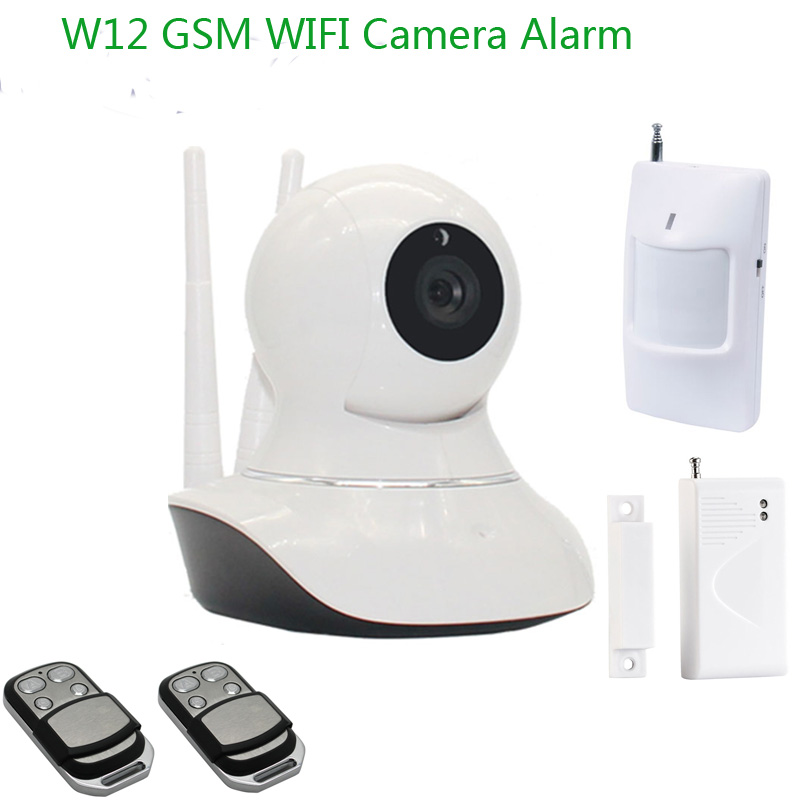 Hot New Products for 2016! 3G GSM +WiFi Camera Alarm With IP Camera !WiFi IP Camera With Android /IOS(China (Mainland))