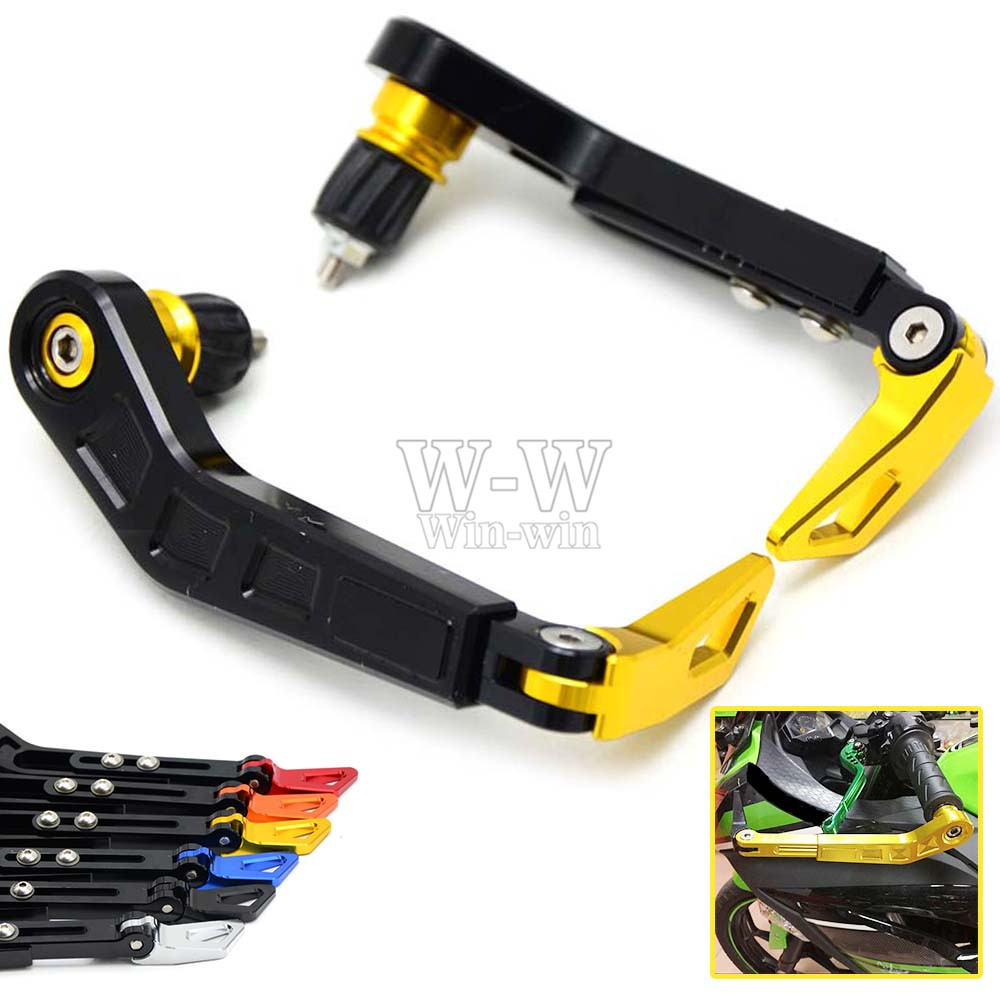 Universal 7/8 22mm Motorcycle Handlebar Brake Clutch Levers Protector Guard for suzuki honda kawasaki yamaha KTM Ducati etc<br><br>Aliexpress