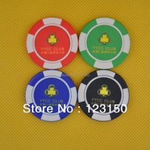 CP-016 Casino Poker Chips Ceramic Suppliers Free Custom Logo  Shipping Free