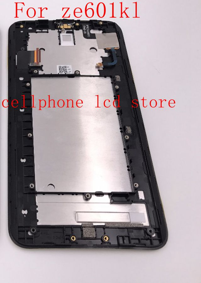6.0 Lcd Display+Touch Glass Digitizer Frame Assembly For Asus Zenfone Laser Ze601kl replacement Palatalla free shipping<br><br>Aliexpress