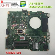 736822-501 for HP 14-N series laptop motherboard,A8-4555M AM4555SHE44HJ DA0U92MB6D0 REV:D SHELI stock No.038(China)