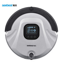 Seebest C565 Robot Vacuum Cleaner Anti Collision Anti Fall,LCD Screen,HEPA Filter,Auto Clean(China)