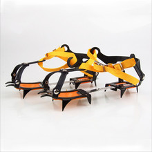 Men Women Universal Winter No Slip Ice Gripper Cleats Ski Crampons Walker For Climbing Walking Hiking Snowshoes Snow Shoes Cover(China)