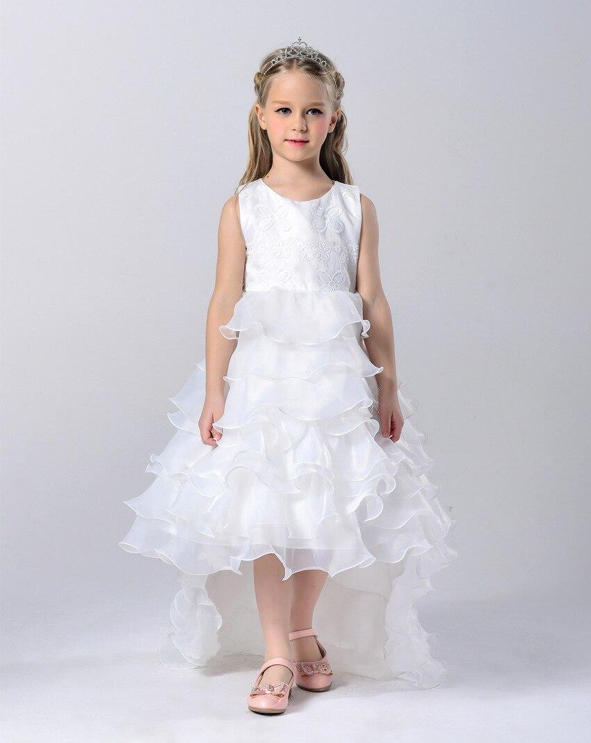 Children Clothes Girls Summer Dresses Kids Teenage Fashion Dress Princess Chiffon Dress Girls Trailing Dress<br><br>Aliexpress