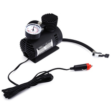 Mini DC 12V Car Electric Air Pump Air Compressor Inflatable 300 PSI For Boat Bicycle Motorcycle Car Cigarette Lighter Plug