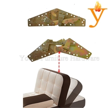 Folding Sofa Bed Mechanism Adjustable Furniture Backrest Hinges D05