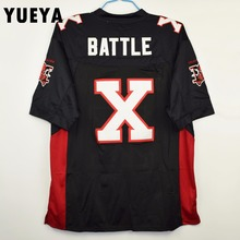 "YUEYA ""The Longest Yard"" Movie Jerseys #X Joey Battle Battaglio Mean Machine American Football Jersey Mens Cheap Black S-3XL"
