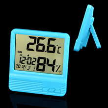 Household Electronic Digital Hygrometer Thermometer Humidity Alarm Clock Calendar Hygro_301C