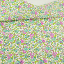 News Green Cotton Fabric lovely flowers desgins Clothing Doll's DIY Home Textile Decoration Sewing Tissue fat quarter crafts CM