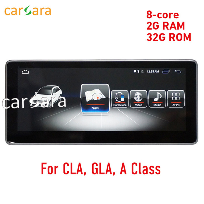 2G-RAM-10-25-Android-display-for-Mercede-Benz-CLA-GLA-A-Class-W176-2013-2017.1