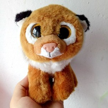 1pc 15cm Hot Sale Ty Beanie Boos Big Eyes Lion Plush Toy Doll Stuffed Animal Cute Plush Toy Kids Toy Birthday Gift