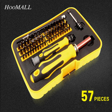 Hoomall 57 In 1 Multi Screwdriver Set Mini Kit For Precise Repair Phones Watch Electronic Magnetic Screwdriver Bits Hand Tools