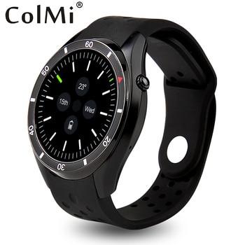 Colmi vs110 smartwatch android 5.1 reloj de la frecuencia cardíaca real tracker mtk6580 amoled hd 400*400 de resolución scree gps wifi smart watch
