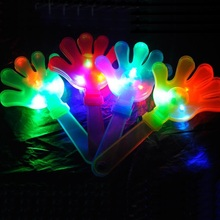 Cute Palm Shape Design Nose Maker Light-up Toys Funny Party LED Lighting Toys