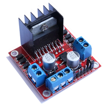 1pcs/lot New Dual H Bridge DC Stepper Motor Drive Controller Board Module L298N for Ar-duino Free Shipping(China)