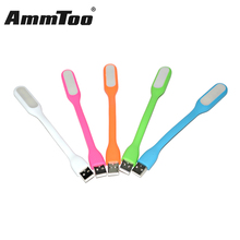 Ultra Bright Xiaomi Led USB Lamp for Notebook Computer Laptop PC Portable Flexible LED USB Light White Pink Orange Green Blue(China)