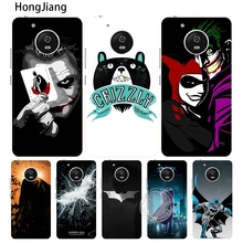 HongJiang Silver Batman case cover for For Motorola moto G6 G5 G4 PLAY PLUS ZUK Z2 pro BQ M5.0(China)