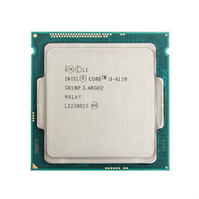 Intel Core i3 4130 3.40GHz 512KB/3MB Socket LGA1150 Haswell CPU Processor SR1NP(China)