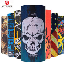 X-Tiger Summer Outdoor Sports Scarf Bicycle Equipment Headwear Seamless Ride Neck Mask Bike Magic Cap Cycling Headband Bandana(China)